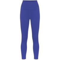 Girlfriend Collective Legging Cintura Alta Compressiva - Azul