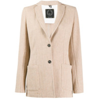 T Jacket Single Breasted Blazer - Neutro
