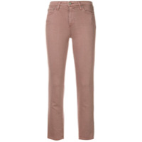 Ag Jeans The Isabelle Straight Cropped Jeans - Rosa