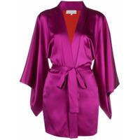 Fleur Du Mal Kimono Haori Com Cinto - Rosa