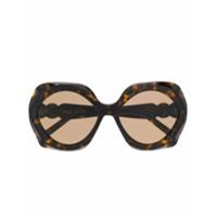 Elie Saab Óculos De Sol Es 057/g/s - Marrom