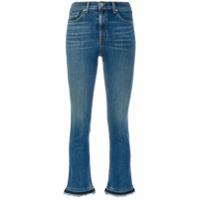 Rag & Bone /jean Calça Jeans Skinny Cropped - Azul