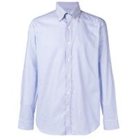 Al Duca D'Aosta 1902 Camisa Listrada - Azul