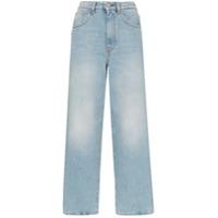 Totême Calça Jeans Flare - Azul