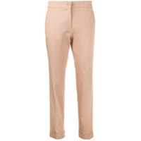 Etro Calça Slim Cropped - Neutro