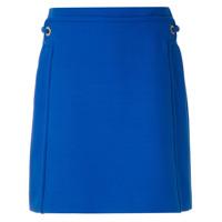 Tory Burch Saia Reta Jane Detalhe Lateral - Azul