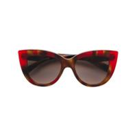 Valentino Eyewear Óculos De Sol 'valentino Garavani' - Neutro