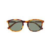 Dsquared2 Eyewear Óculos De Sol Quadrado Tartarugado - Marrom