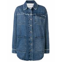 Acne Studios Jaqueta Com Estilo De Camisa Jeans - Azul