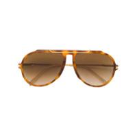 79dd2c658 Celine Eyewear Óculos de sol aviador - Marrom | iLovee