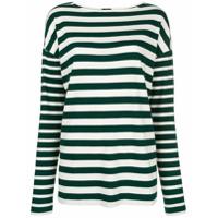 Joseph Camiseta Listrada Mangas Longas - Green