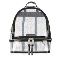 Michael Michael Kors Logo Print Rhea Backpack - Neutro