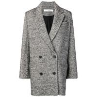 Iro Boxy Blazer Coat - Cinza
