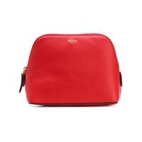 Mulberry Leather Make-Up Bag - Vermelho