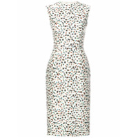 Jason Wu Collection Vestido Com Estampa Floral - Branco