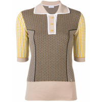Carven Camisa Polo De Tricô - Marrom