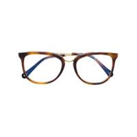 Chloé Eyewear Óculos Com Armação Quadrada - Marrom