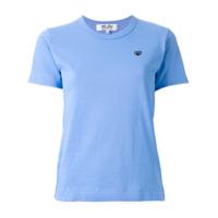 Comme Des Garçons Play Camiseta - Azul