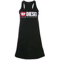 Diesel Regata Com Logo Bordado - Preto