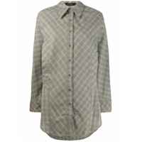 Low Classic Long Checked Shirt - Verde