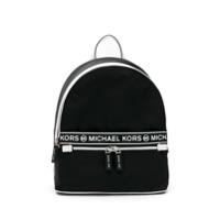 Michael Michael Kors Mochila Kenly Com Logo - Preto