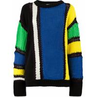 Koché Chunky Knit Sweater - Preto