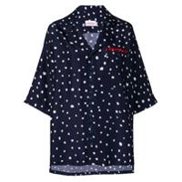 Charles Jeffrey Loverboy Camisa Com Estampa De Poás - Azul