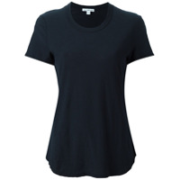 James Perse Round Neck Shortsleeved T-Shirt - Azul