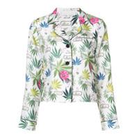Fleur Du Mal Blusa Floral - Branco