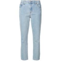 J Brand Calça Jeans Cropped Slim 'ruby' - Azul