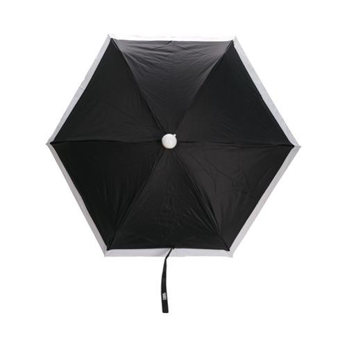 Karl Lagerfeld Guarda chuva bicolor - Preto