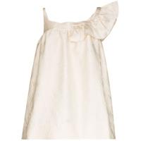 Shushu/tong Vestido Mini Com Alça Assimétrica - Branco