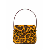 Edie Parker Bolsa Hot Animal Print - Amarelo