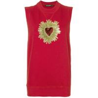 Dolce & Gabbana Regata 'Sacred Heart' - Vermelho