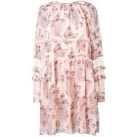 Giamba Vestido Floral - Neutro