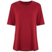 Osklen T-Shirt Long Rustic Canelada - Vermelho