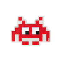Anya Hindmarch Chaveiro 'space Invaders' - Vermelho