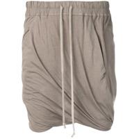 Rick Owens Drkshdw Buds Shorts - Cinza