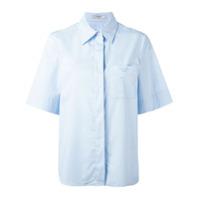 Lanvin Camisa Mangas Curtas - Azul