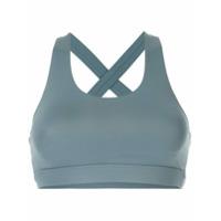 Nimble Activewear Top Esportivo Hold Me In - Azul