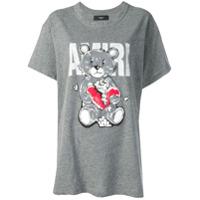 Amiri Bear Print T-Shirt - Cinza
