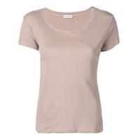 Fine Edge Camiseta Gola Redonda - Marrom