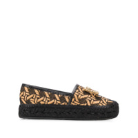 Dolce & Gabbana Espadrilles Com Logo - Preto