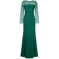 Copurs Vestido De Festa Com Renda - Verde
