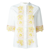 Etro Camisa Bordada - Branco