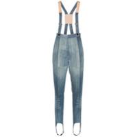 Ronald Van Der Kemp Calça Jeans Skinny Com Patchwork - Azul