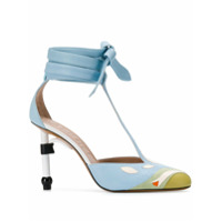Lanvin Sapato Parrot Salomé - Azul