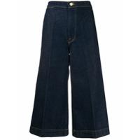 Frame Calça Jeans Cropped Le Culotte - Azul