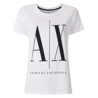 Armani Exchange T-Shirt Com Logo - Branco