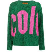 Colville Suéter De Tricô Com Logo - Verde